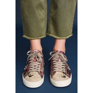 Anthro D.A.T.E. Butterfly Hill Embellished Sneaker